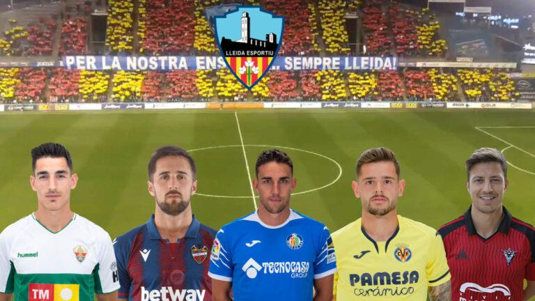 5 jugadores que no recordabas que jugaron en el Lleida